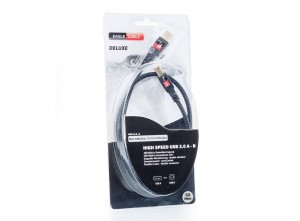 Eagle Cable DELUXE HIGH-SPEED USB 2.0 A-B